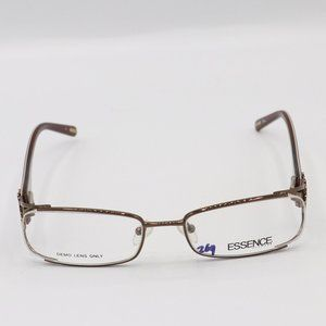 Womens Brown Girly Glasses by Essence